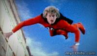 Ralph flying