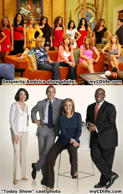 Spanish morning TV vs. American morning TV