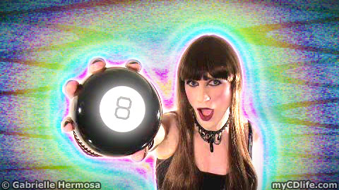 Gabrielle's Magic 8 Ball Video Promo