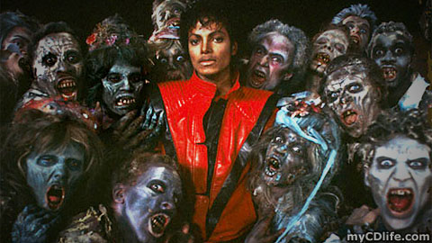 Thriller zombie photo