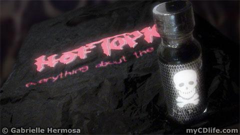 black nail polish